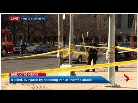 Canadian celebrities react to Toronto van attack - National