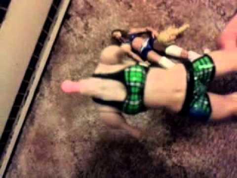 Custom WWE Kelly Kelly (Brown Hair) - YouTube