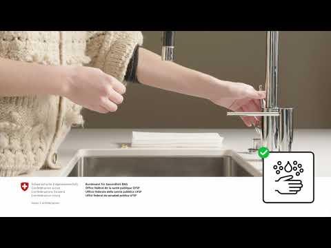 Hygieneregeln / Règles d'hygiène / Regole di igiene / Hygiene rules 1