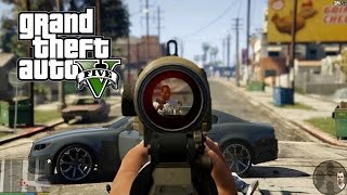 First Person Experience Trailer - Grand Theft Auto V
