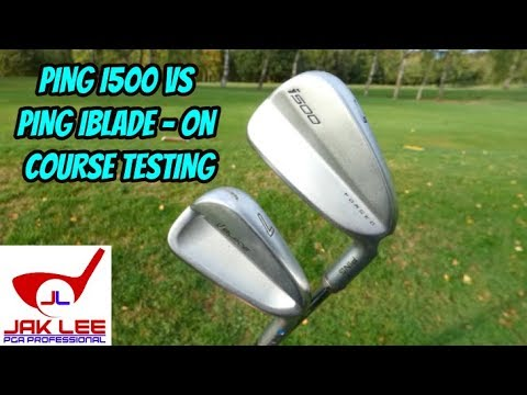 PING IBLADE VS PING I500 ON COURSE TESTING