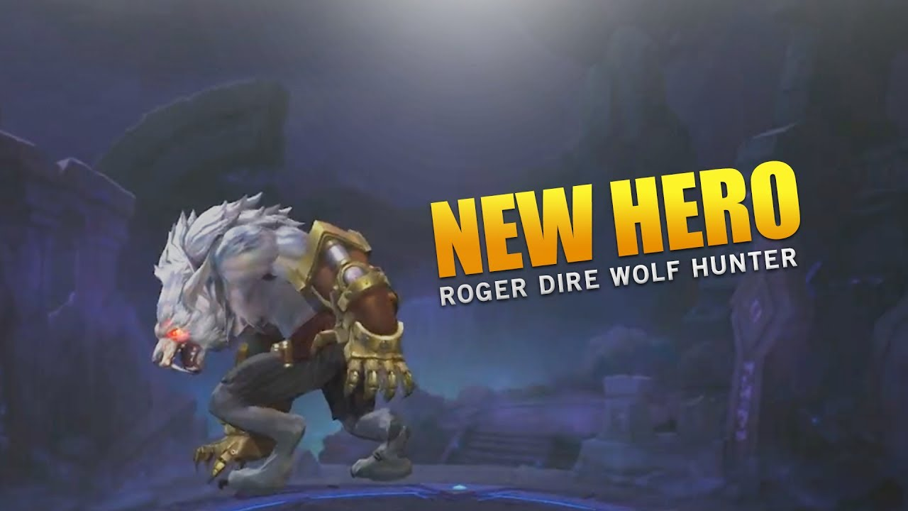 Mobile Legends New Hero Roger First Look!