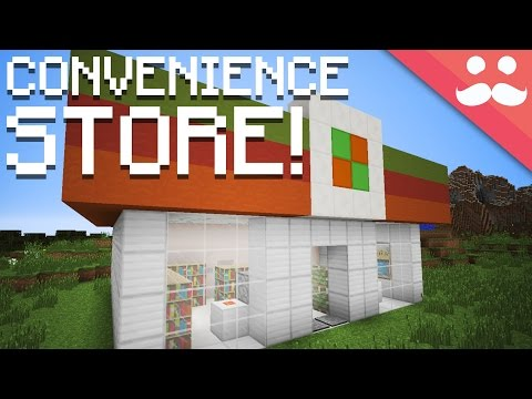 How to make a Redstone Convenience Store in Minecraft!