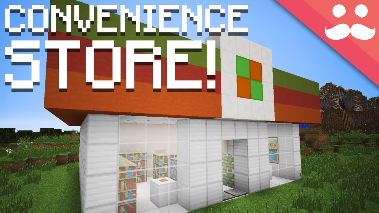 How to make a redstone convenience store in minecraft youtube - Start convenience store countryside ...