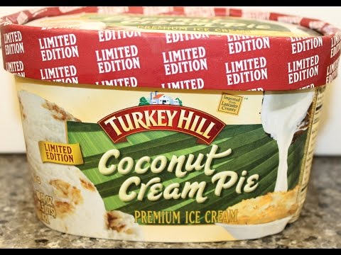 Turkey Hill: Coconut Cream Pie Ice Cream Review