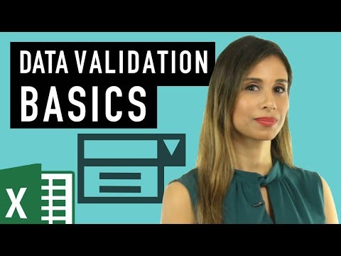 Data Validation In Excel - Should You Include These In Your Files?