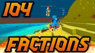 """Minecraft Factions VERSUS: Episode 104 """"MASSIVE RAID BATTLE"""" w/ MrWoofless"""