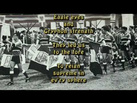 Raffles Institution (RI) anthem, compiled by class of '74