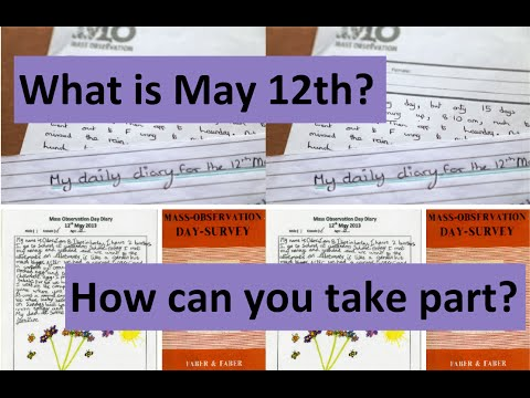 What Is May 12th?