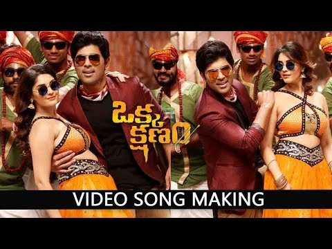 Okka Kshanam Movie Video Song Making |...