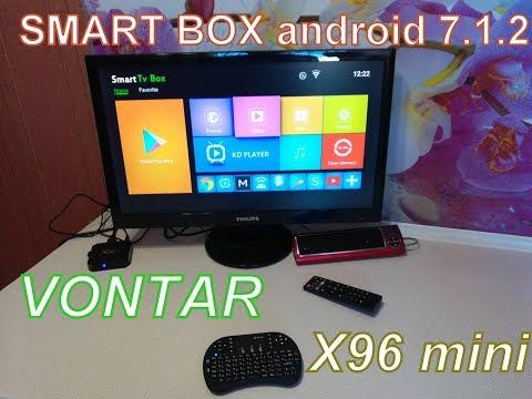 Обзор медиаплеера из Китая Vontar Android X96 Mini. Превращаем старый монитор в современный смарт тв