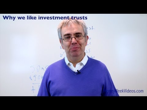 Why We Like Investment Trusts - MoneyWeek Videos