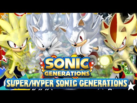 Super/Hyper Sonic Generations FULL Playthrough (2K 60FPS Motion Blur) & GIVEAWAY