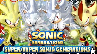 Repeat youtube video Super/Hyper Sonic Generations FULL Playthrough (2K 60FPS Motion Blur) & GIVEAWAY