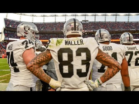 Raiders ESPN's Says Waller Is The Raiders Best Player Don't Forget Derek Carr - By Eric Pangilinan