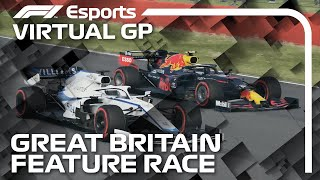 2021 Virtual British Grand Prix: Feature Race Highlights