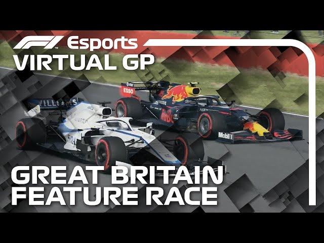 2021 Virtual British Grand Prix: Feature Race Highlights