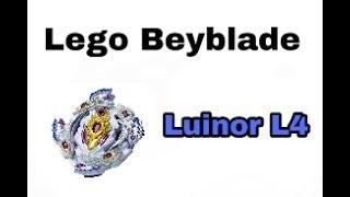 Как из лего собрать волчок Beyblade Burst Luinor L4
