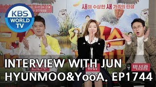 Interview with Jun Hyunmoo, Park Sungkwang, & YooA [Entertainment Weekly/2019.01.07]