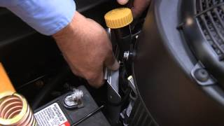 How to Change the Filter and Oil on RZT  Zero-Turn Riding Mowers