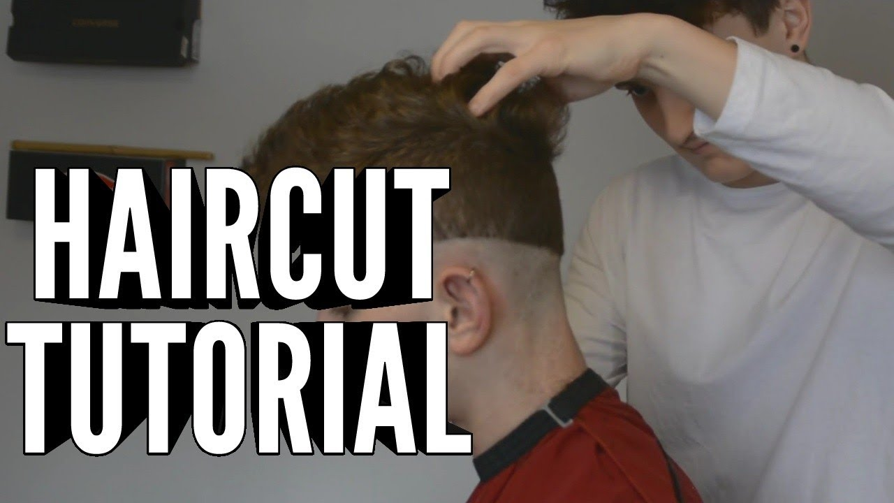 hair tutorial 1 haare bergang selber schneiden youtube