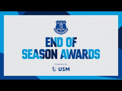 Premios de fin de temporada del Everton 2020/21