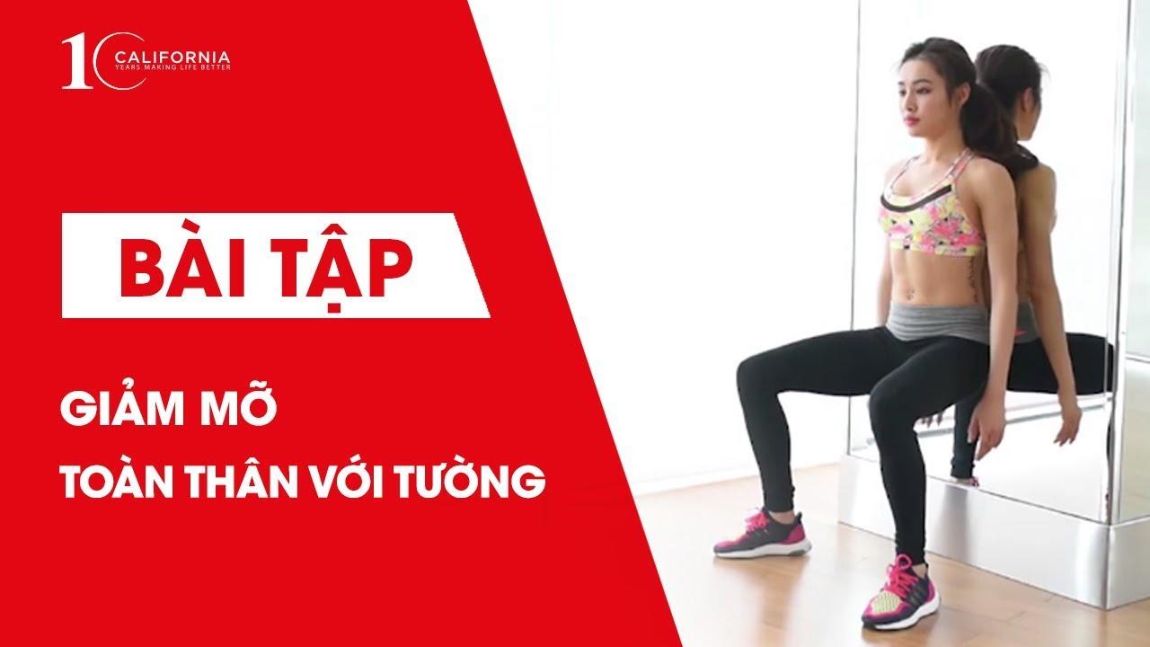 Workout #24 | Giảm mỡ toàn thân bằng các bài tập với tường | CFYC