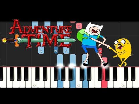 Adventure Time Theme Piano Tutorial