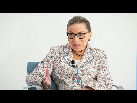 Justice Ruth Bader Ginsburg discusses the 2018-19 Supreme Court term