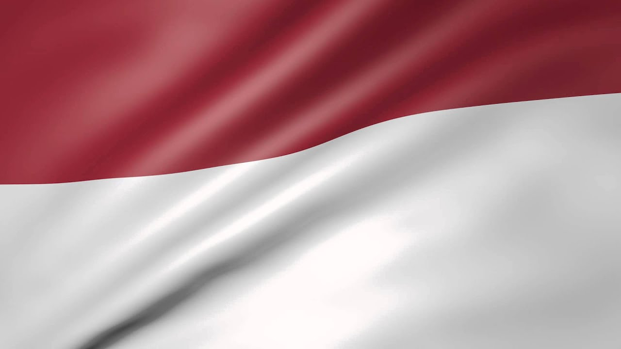 animated flag of indonesia
