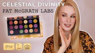 Обзор Celestial Divinity от Pat McGrath Свотчи 4 макияжа и обзор