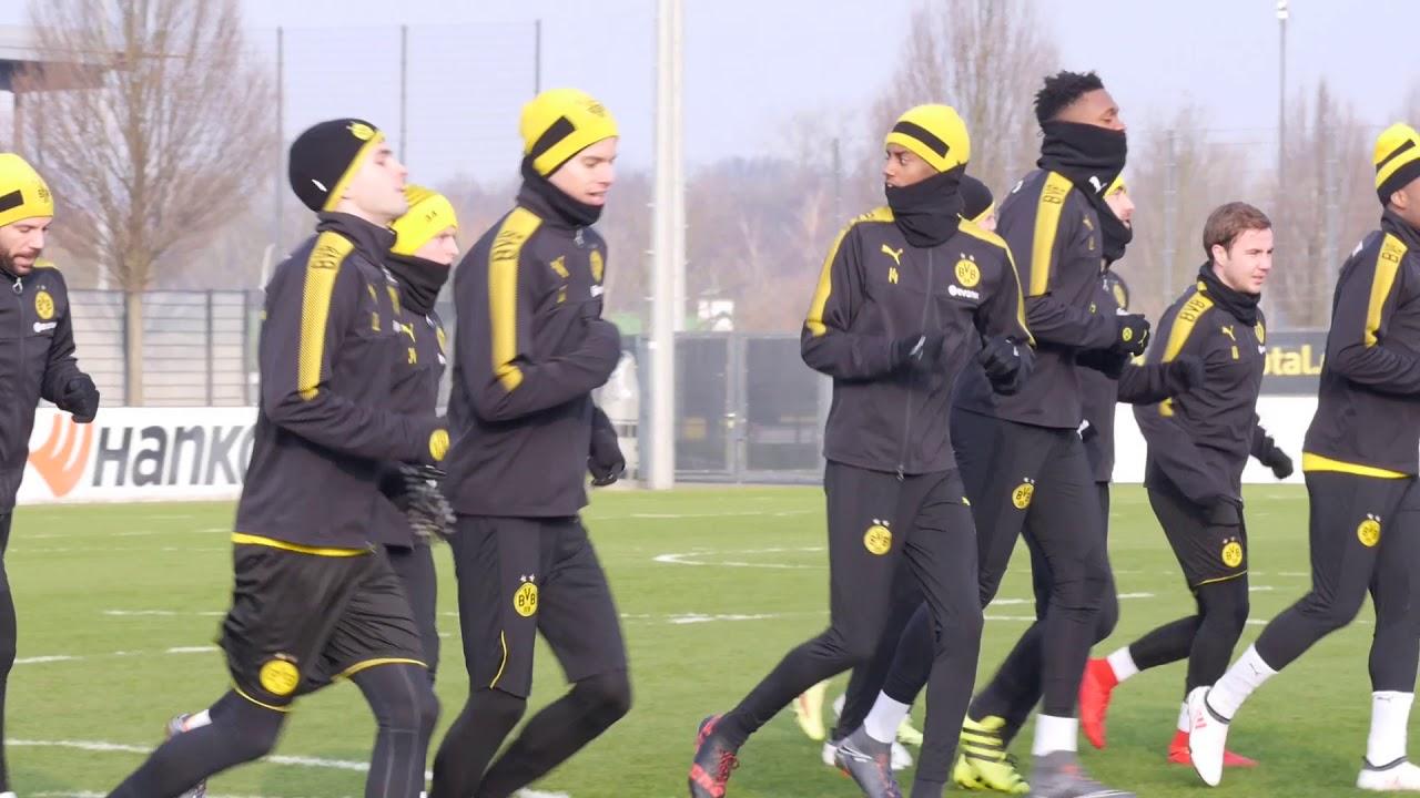 BVB-Training in Brackel am 7. Februar