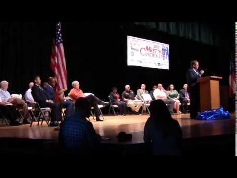 Gregory L. Williams (D) for GA Senate 8 not present