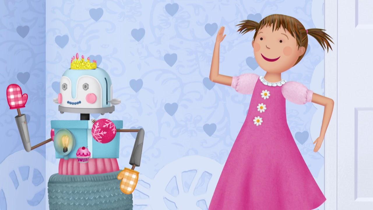 pinkalicious robot song youtube
