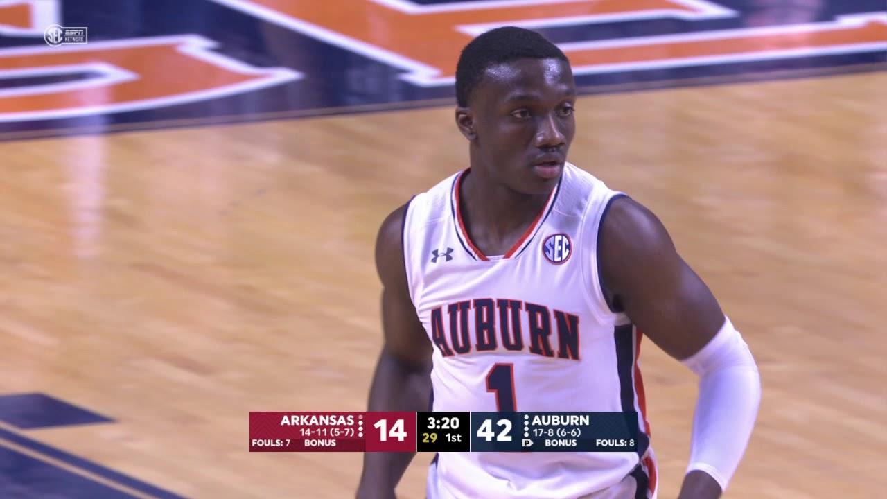 Auburn Men's Basketball vs Arkansas Highlights
