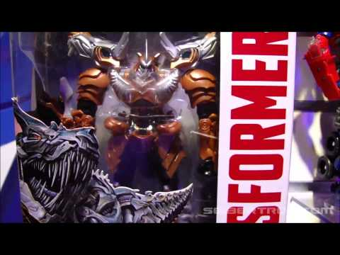 Toy Fair 2014\/Hasbro Media Day Transformers: Age of Extinction Display
