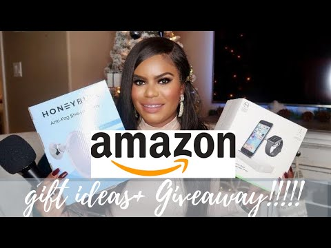 AMAZON GIFT GUIDE MUST/HAVES 2019 UNDER $100 + GIVEAWAY-SHARIA BROOKS