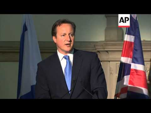 British PM Talks Ahead Of Ceremony For Athletes Killed At Munich Games