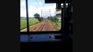田名部生来さんのパト電の車窓から。 近江鉄道、八日市→近江八幡のどこ...