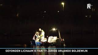 Gevonden Lichaam Is Van 17-jarige Orlando Boldewijn