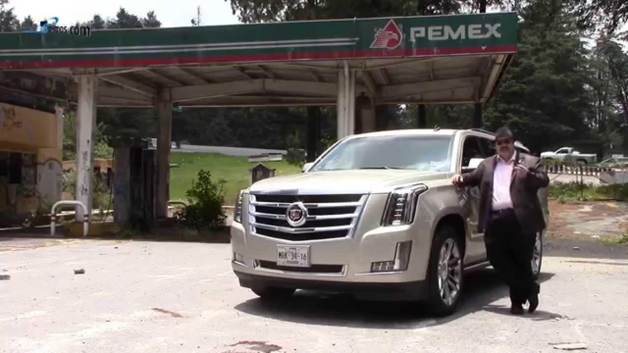 Cadillac Escalade 2015 a prueba   Autocosmos - YouTube