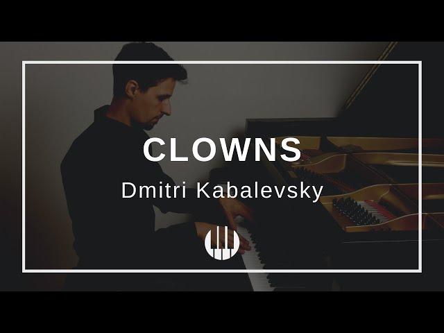 Clowns Op. 39 No. 20 by Dmitri Kabalevsky