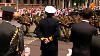 Dutch veterans day parade 2015