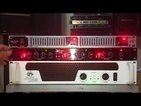 đầu lọc âm thanh nghe nhạc và hát karaoke EQ 215. Equalizer siêu mỏng nhưng chất lh 0989160695