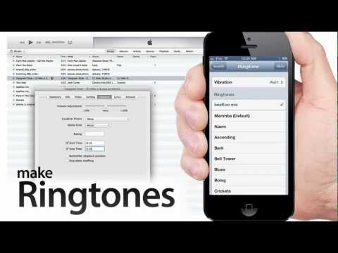 How to MAKE RINGTONES from Mus...