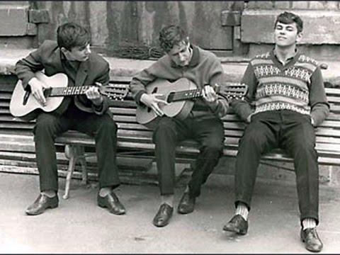 Дворовые песни - Все ребята говорят наперебой - послушать и скачать в формате mp3 в отличном качестве