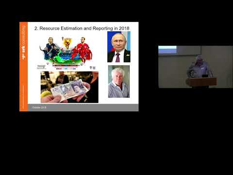 Mineral Resource Estimation: Mike Armitage (22.10.18)