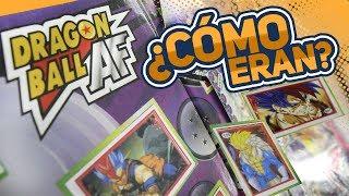 ¿Album y cartas de Dragon Ball AF?