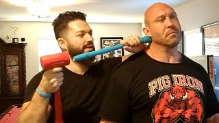 Download WWE Superstar Ryback gets the most INTENSE Chiropractic adjustment! Mp3 and Videos