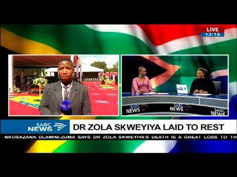 Sipho Stuurman updates on burial of late ANC stalwart Zola Skweyiya